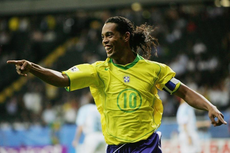 Ronaldinho đã có rất nhiều đóng góp cho thành công của đội tuyển quốc gia Brazil